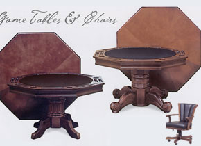 Imperial Poker Table #26-710, #26-707 - Click for details